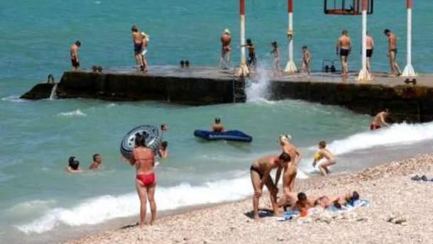 Туристи в Криму
