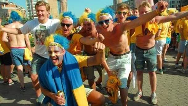 Шведські вболівальники