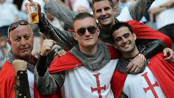 Болельщики Англии