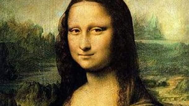 "Фрагмент картины ""Мона Лиза"""