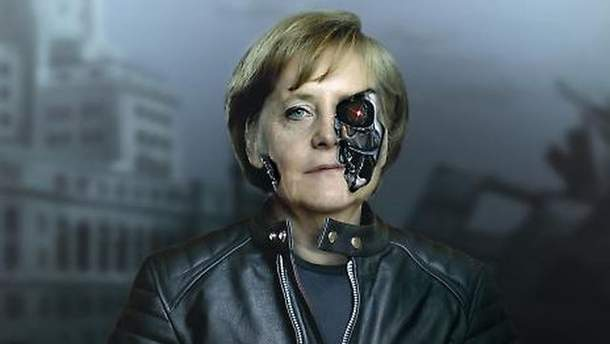 Ангела Меркель на обложке New Statesman
