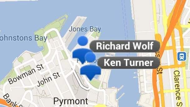 Google Maps Coordinator