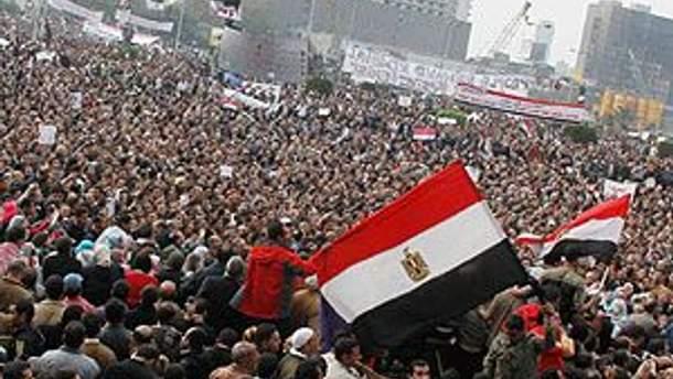 Єгиптяни на площі Тахрір
