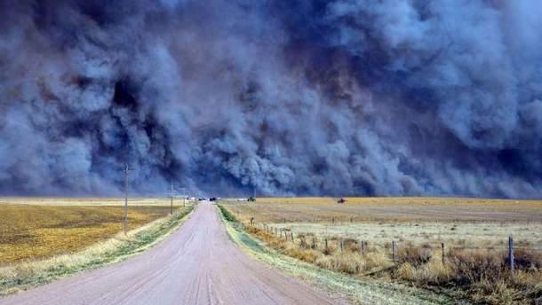 Пожар в Колорадо