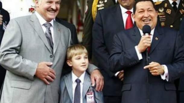 Олександр Лукашенко та Уго Чавес