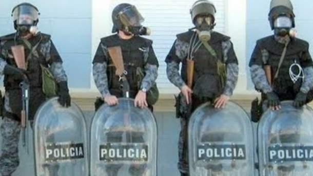 Полиция провинции Чубут