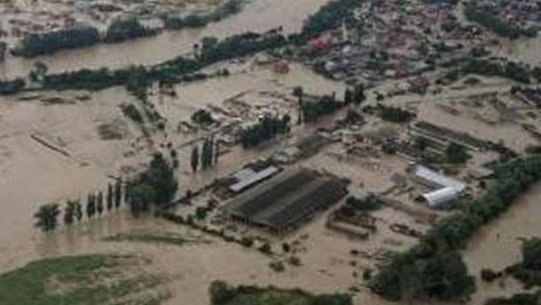 Последствия наводнения на Кубани