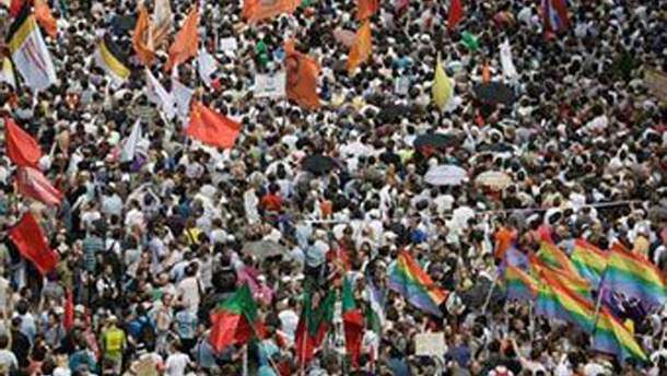 Марш миллионов, организованный российской оппозицией