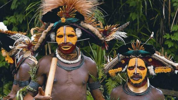 Каннибалы из Папуа-Новой Гвинеи