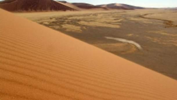 Пустеля у Намібії