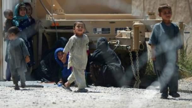 Дети из Сирии