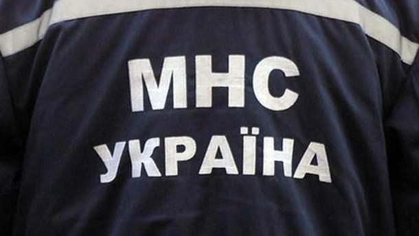 Сотрудник МЧС Украины