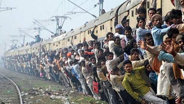 Індійський потяг