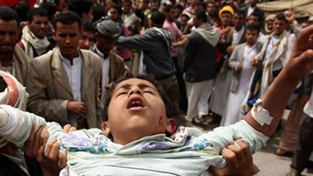 Жертва теракту в Ємені