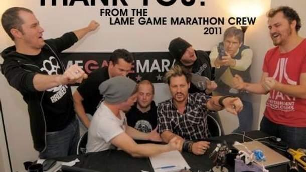 Минулорічний Lame Game Marathon