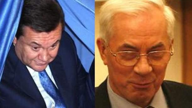 Віктор Янукович і Микола Азаров