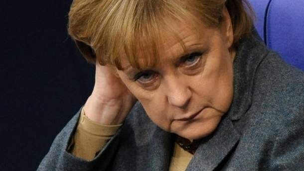 Канцлер ФРН Ангела Меркель