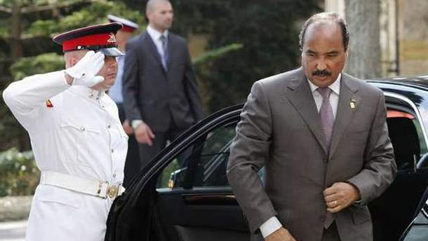 Президент Мавритании