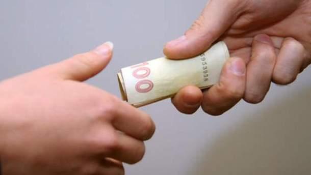 Виборцям давали по 100 гривень