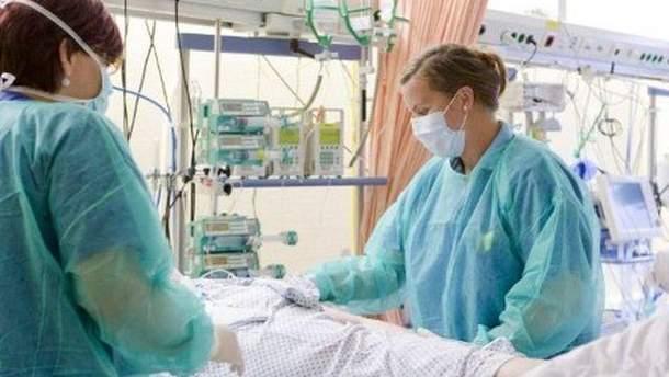 В больнице