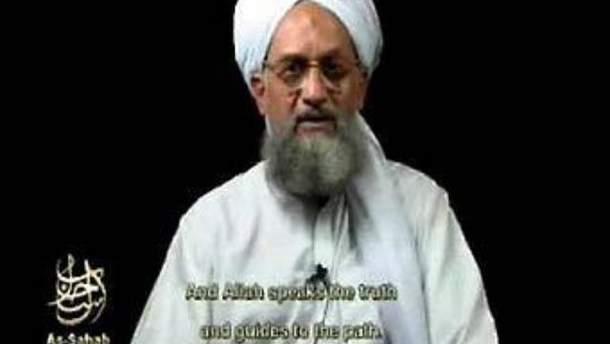 Айман аль-Завахири. Кадр из канала AFP