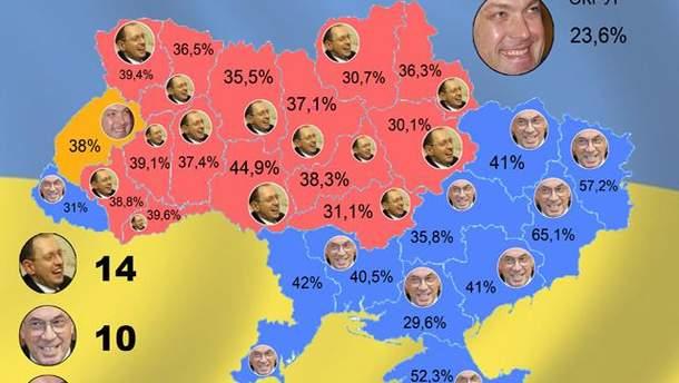 Карта голосування