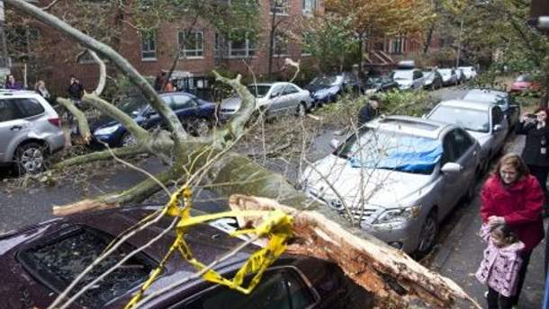 Наслідки урагану Сенді в Нью-Йорку