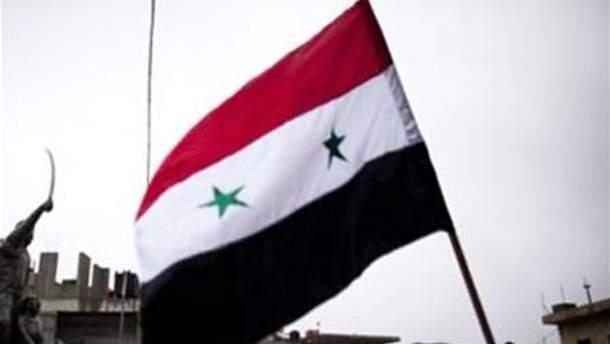 Прапор Сирії