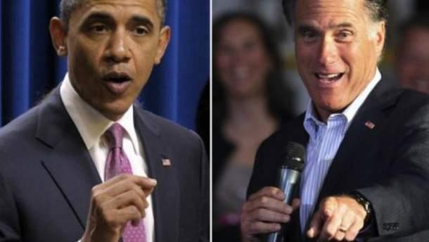 Барак Обама та Мітт Ромні