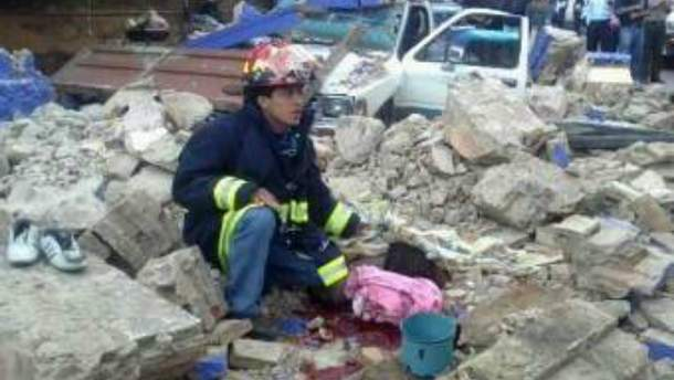 Гватемальський спасатель