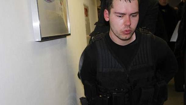 Задержанный Дмитрий Виноградов