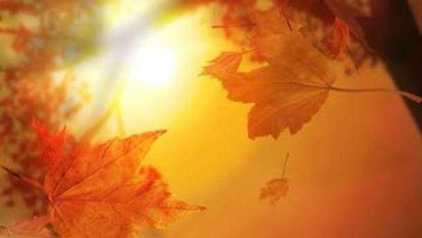 Теплая осень