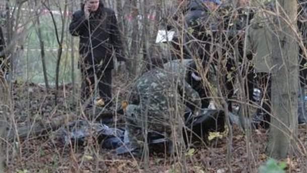 Место, где нашли тело Ярослава Мазурка