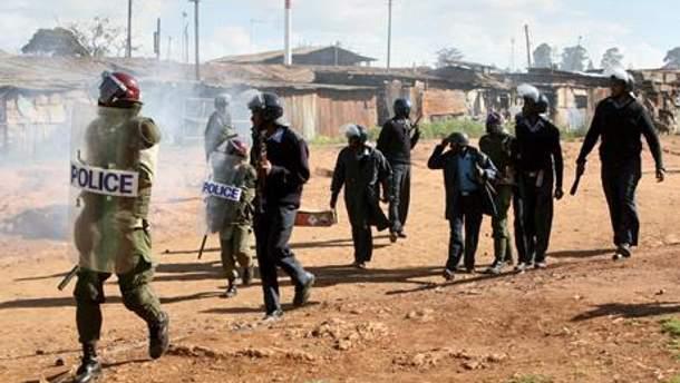 Полиция в Кении