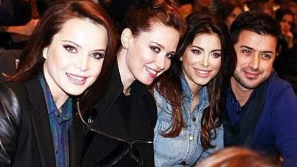 Украинские звезды посетили концерт Дженнифер Лопес (Фото)