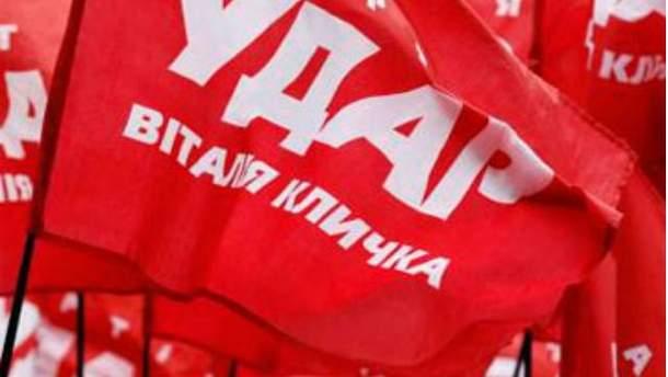 Політична партія УДАР