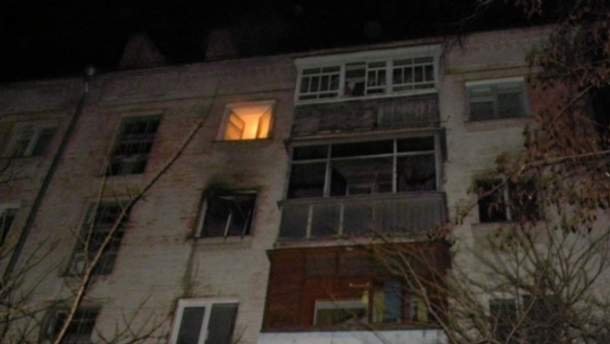 В Чернигове женщина спровоцировала пожар, потому что забыла обед на плите (Фото)
