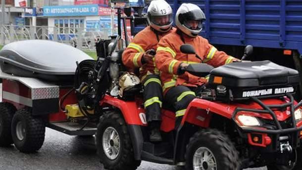Пожежний квадроцикл