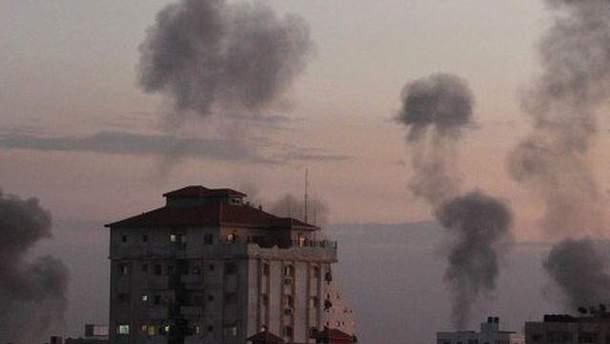 События в секторе Газа