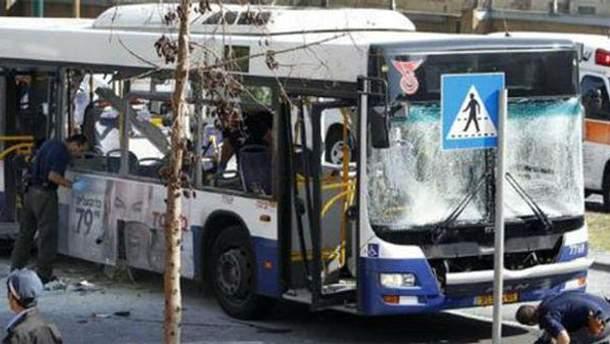 Наслідки вибуху автобуса