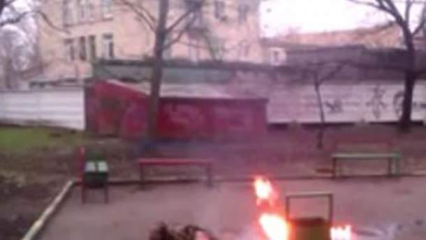 Самосожжение в Москве
