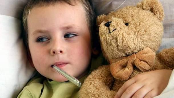 Захворіло 33 тисячі дітей