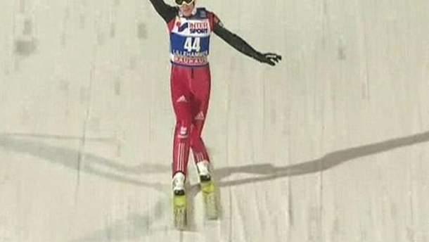 Прыжки с трамплина: Первый этап выиграл немец Зеверин Фройнд