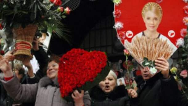 День народження Тимошенко під стінами СІЗО