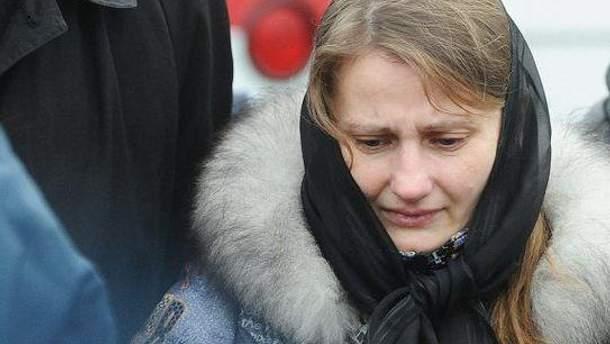 Вдова Ярослава Мазурка