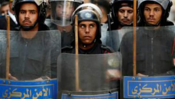 Охорона кордону Єгипту з Лівією