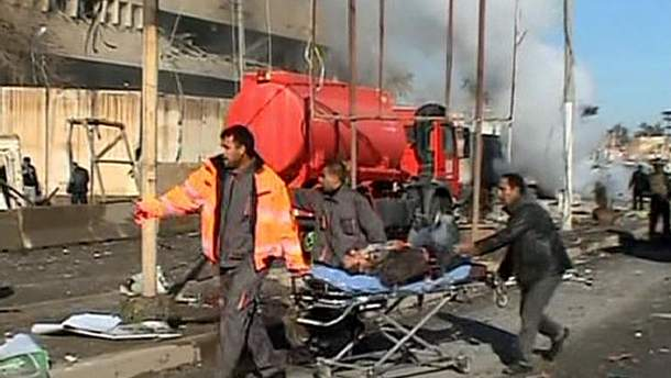 В Іраку терорист-смертник підірвав чергу за зарплатою (Фото)