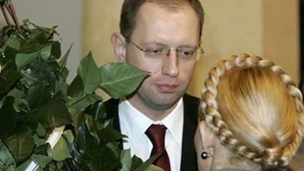 Тимошенко й Яценюк