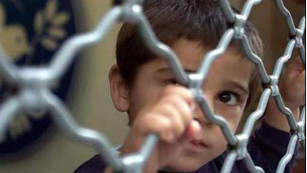 Мальчик-беженец