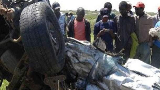 Аварія в Замбії